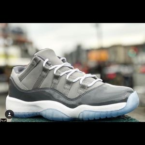 Other - AJ 11 Low Cool Grey PreOrder